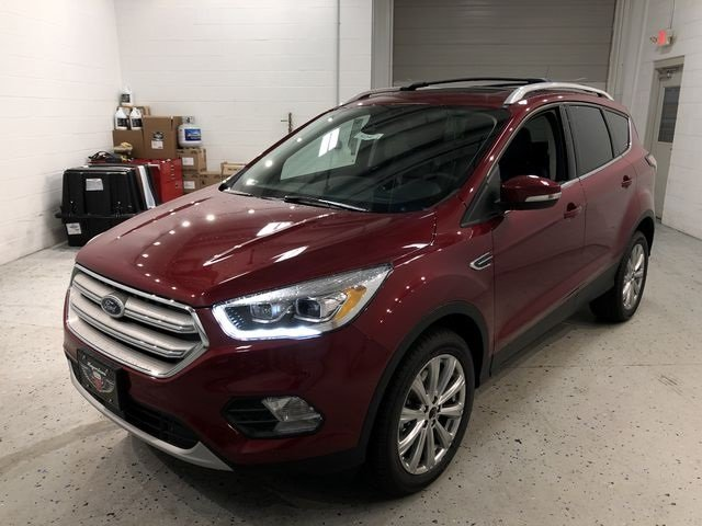 2018 Ford Escape Titanium 4 Door EcoBoost 2.0L I4 GTDi DOHC Turbocharged VCT Engine 4X4 SUV