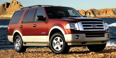 2008 Ford Expedition Eddie Bauer 4X4 SUV 4 Door 5.4L V8 SOHC 24V Engine Automatic