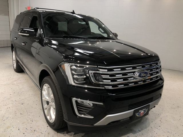 2018 Shadow Black Ford Expedition Max Limited Automatic 4 Door 4X4