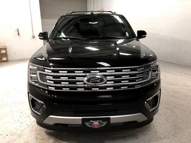2018 Shadow Black Ford Expedition Max Limited 4 Door SUV Automatic EcoBoost 3.5L V6 GTDi DOHC 24V Twin Turbocharged Engine