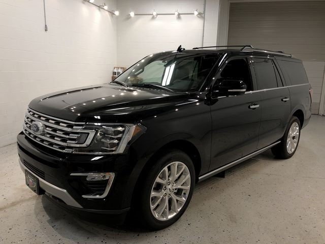 2018 Shadow Black Ford Expedition Max Limited 4X4 EcoBoost 3.5L V6 GTDi DOHC 24V Twin Turbocharged Engine 4 Door SUV