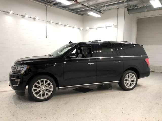 2018 Ford Expedition Max Limited EcoBoost 3.5L V6 GTDi DOHC 24V Twin Turbocharged Engine 4 Door 4X4