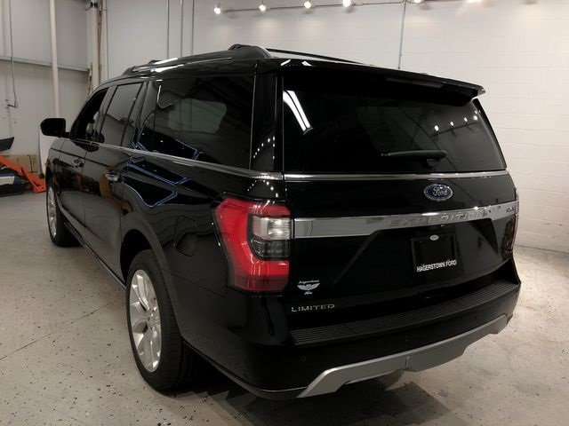 2018 Shadow Black Ford Expedition Max Limited EcoBoost 3.5L V6 GTDi DOHC 24V Twin Turbocharged Engine 4X4 Automatic