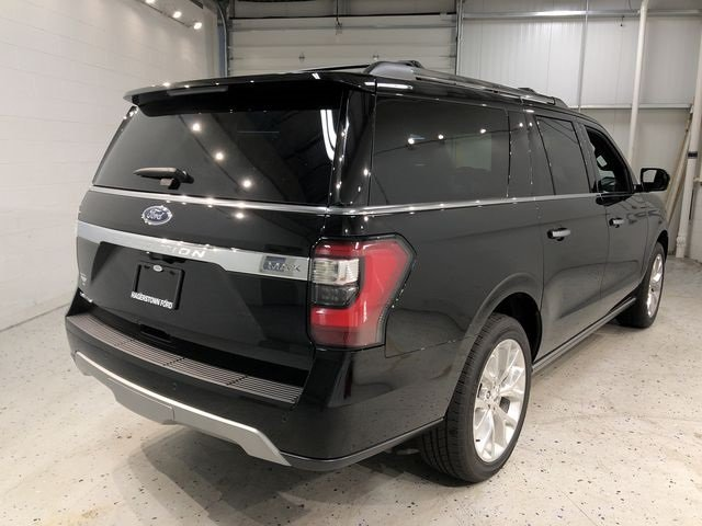 2018 Shadow Black Ford Expedition Max Limited SUV EcoBoost 3.5L V6 GTDi DOHC 24V Twin Turbocharged Engine 4 Door Automatic 4X4