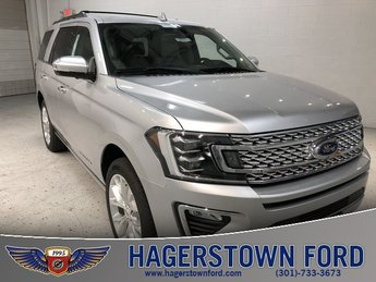 2018 Ingot Silver Metallic Ford Expedition Platinum Automatic 4 Door EcoBoost 3.5L V6 GTDi DOHC 24V Twin Turbocharged Engine 4X4 SUV