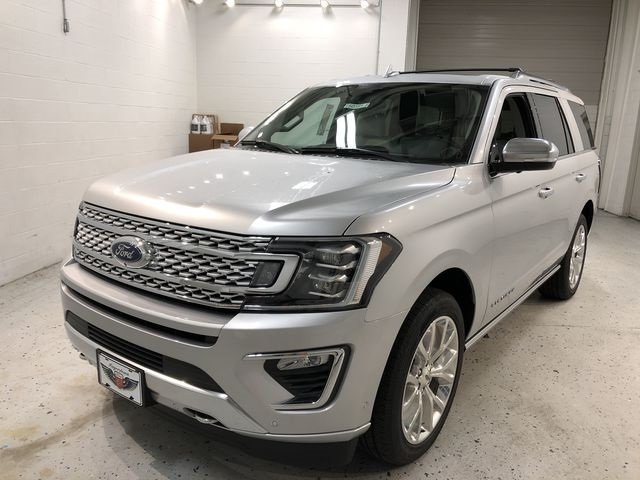 2018 Ingot Silver Metallic Ford Expedition Platinum EcoBoost 3.5L V6 GTDi DOHC 24V Twin Turbocharged Engine SUV 4X4 Automatic 4 Door