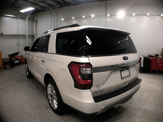 2018 White Metallic Ford Expedition Limited 4X4 EcoBoost 3.5L V6 GTDi DOHC 24V Twin Turbocharged Engine Automatic SUV 4 Door