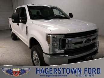 2018 White Ford Super Duty F-250 SRW XLT 4X4 Automatic Truck