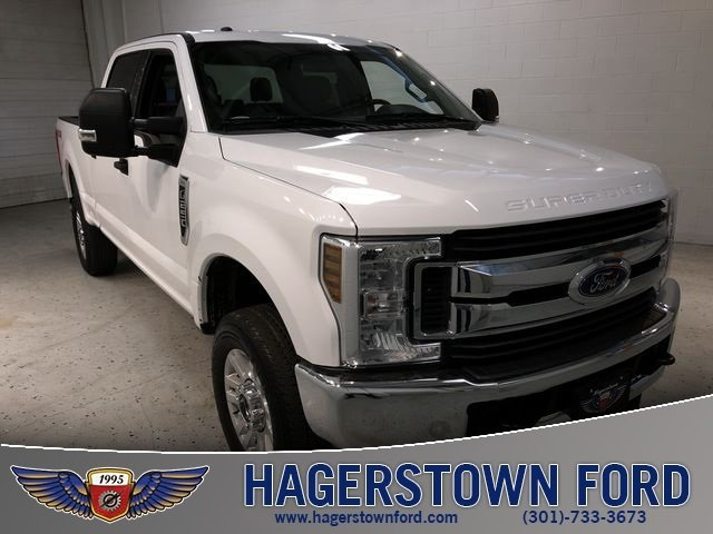 2018 Ford Super Duty F-250 SRW XLT 6.2L V8 EFI SOHC 16V Flex Fuel Engine 4X4 4 Door