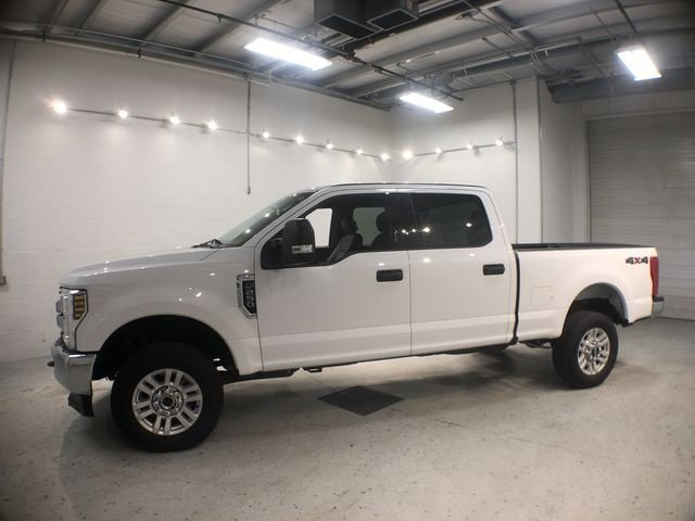 2018 Ford Super Duty F-250 SRW XLT Automatic 4X4 6.2L V8 EFI SOHC 16V Flex Fuel Engine 4 Door