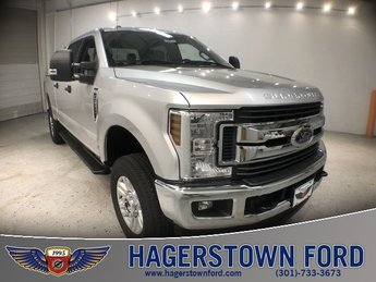 2018 Ingot Silver Metallic Ford Super Duty F-250 SRW XLT 4X4 Automatic 4 Door Truck V8 Engine