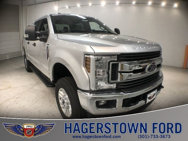 2018 Ingot Silver Metallic Ford Super Duty F-250 SRW XLT Automatic Truck V8 Engine 4 Door