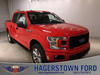 2018 Ford F-150 XL Truck 4X4 5.0L V8 Ti-VCT Engine 4 Door