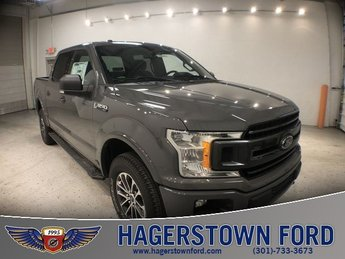 2018 Lead Foot Ford F-150 XLT 5.0L V8 Ti-VCT Engine 4X4 Truck Automatic 4 Door