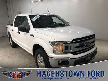 2018 White Ford F-150 XLT 4X4 4 Door 5.0L V8 Engine