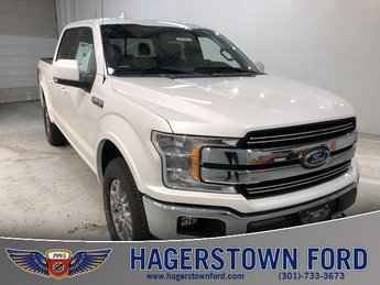 2018 Ford F-150 Lariat 5.0L V8 Ti-VCT Engine 4X4 Automatic 4 Door Truck
