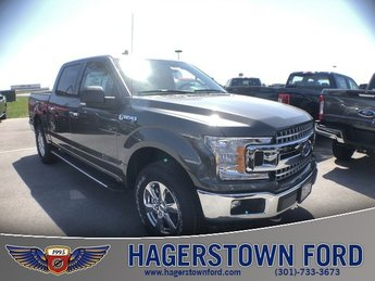 2018 Magnetic Metallic Ford F-150 XLT Automatic 4 Door Truck 4X4 5.0L V8 Ti-VCT Engine