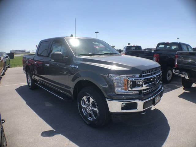 2018 Magnetic Metallic Ford F-150 XLT Automatic Truck 4 Door 5.0L V8 Ti-VCT Engine