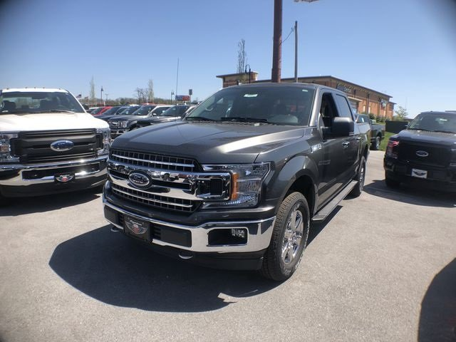 2018 Magnetic Metallic Ford F-150 XLT Truck 5.0L V8 Ti-VCT Engine 4 Door