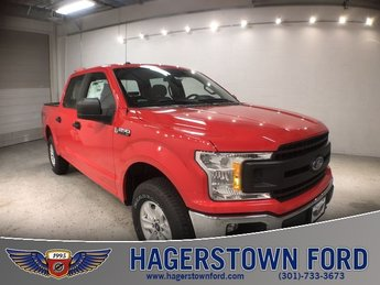 2018 Race Red Ford F-150 XL 3.3L V6 Ti-VCT 24V Engine 4 Door Truck 4X4 Automatic
