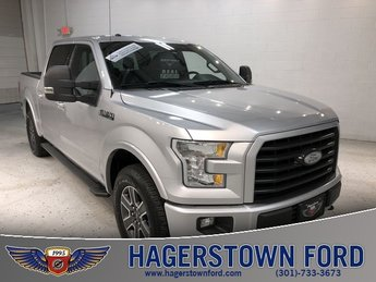 2016 Ford F-150 XLT 4 Door 5.0L V8 FFV Engine 4X4 Automatic