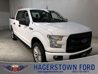 2016 Oxford White Ford F-150 XL Automatic 4X4 4 Door 5.0L V8 FFV Engine