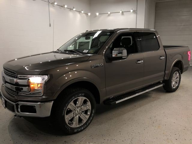 2018 Stone Gray Ford F-150 Lariat Truck EcoBoost 3.5L V6 GTDi DOHC 24V Twin Turbocharged Engine Automatic