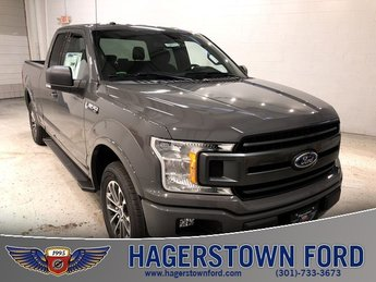 2018 Ford F-150 XLT Automatic 4 Door EcoBoost 2.7L V6 GTDi DOHC 24V Twin Turbocharged Engine