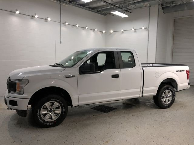 2018 Oxford White Ford F-150 XL EcoBoost 2.7L V6 GTDi DOHC 24V Twin Turbocharged Engine 4 Door Truck