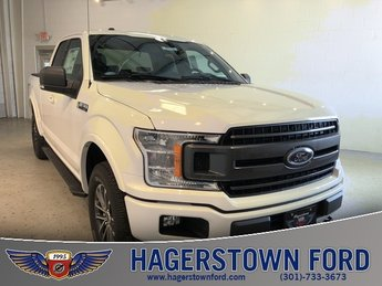 2018 Oxford White Ford F-150 XLT EcoBoost 2.7L V6 GTDi DOHC 24V Twin Turbocharged Engine 4X4 Truck