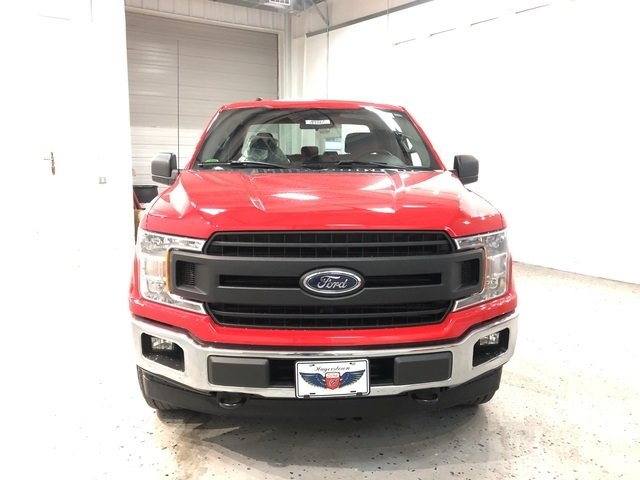 2018 Race Red Ford F-150 XL 4X4 Truck 4 Door