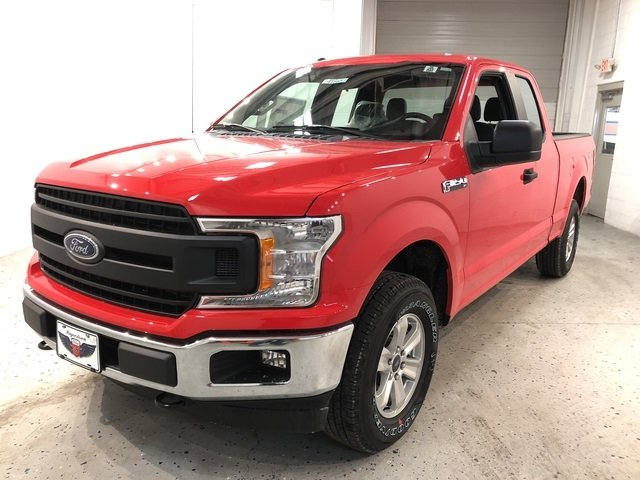 2018 Ford F-150 XL 4 Door EcoBoost 2.7L V6 GTDi DOHC 24V Twin Turbocharged Engine Truck Automatic