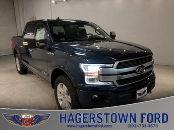 2018 Ford F-150 Platinum 4 Door 3.0L Diesel Turbocharged Engine 4X4 Automatic Truck
