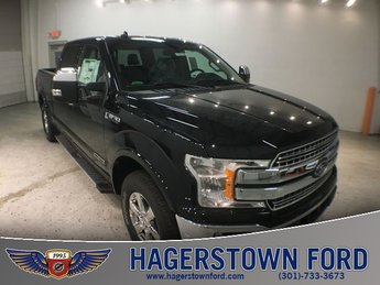 2018 Shadow Black Ford F-150 Lariat Truck 4X4 4 Door 3.0L Diesel Turbocharged Engine Automatic