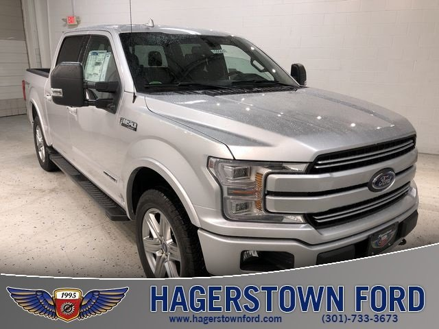 2018 Ford F-150 Lariat 3.0L Diesel Turbocharged Engine Automatic 4X4 4 Door