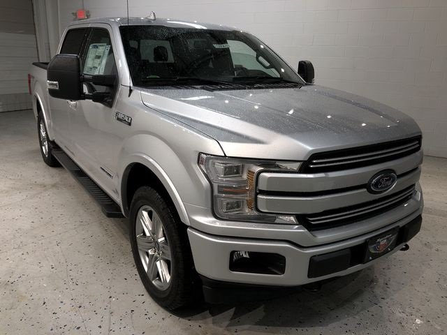 2018 Ingot Silver Metallic Ford F-150 Lariat 4X4 Truck Automatic 3.0L Diesel Turbocharged Engine 4 Door