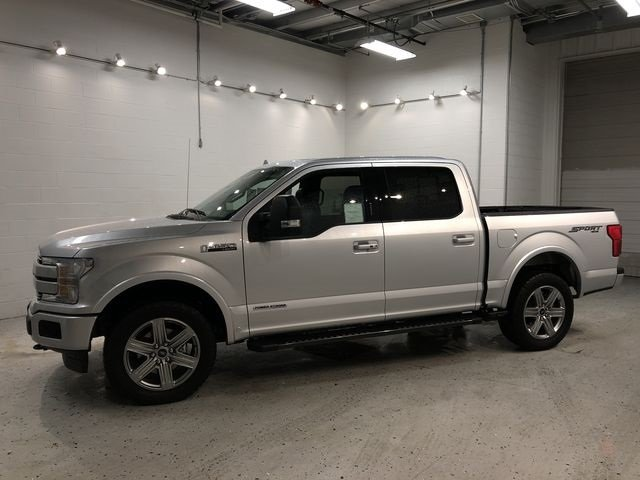 2018 Ford F-150 Lariat 3.0L Diesel Turbocharged Engine 4X4 Truck 4 Door