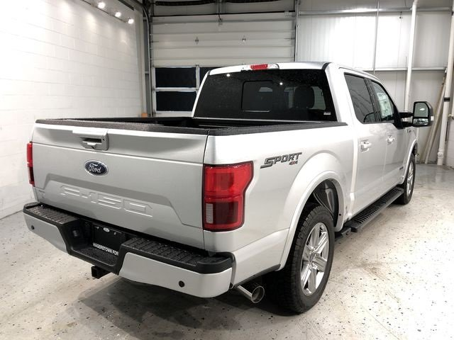 2018 Ingot Silver Metallic Ford F-150 Lariat Truck 4X4 3.0L Diesel Turbocharged Engine 4 Door