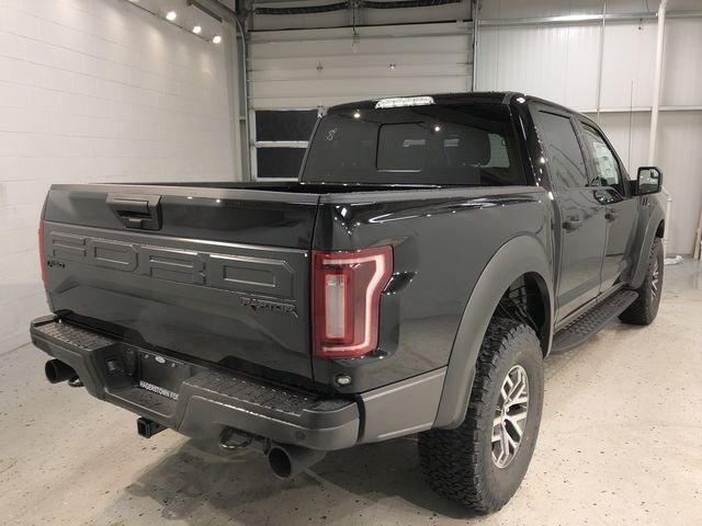2018 Shadow Black Ford F-150 Raptor Automatic Truck 4 Door