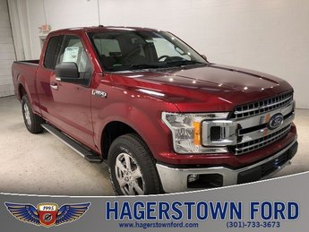 2018 Ruby Red Metallic Tinted Clearcoat Ford F-150 XLT 4 Door Truck Automatic 5.0L V8 Ti-VCT Engine 4X4
