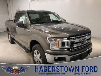 2018 Stone Gray Ford F-150 XLT 4X4 4 Door Truck