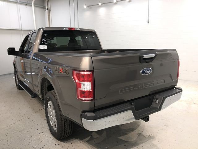2018 Stone Gray Ford F-150 XLT Truck Automatic 4X4 4 Door