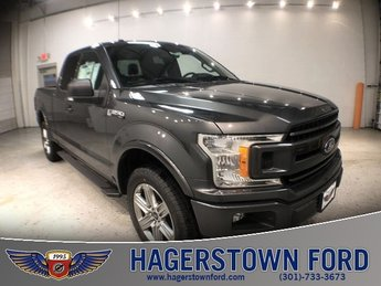 2018 Magnetic Metallic Ford F-150 XLT 4 Door Automatic 4X4 5.0L V8 Ti-VCT Engine