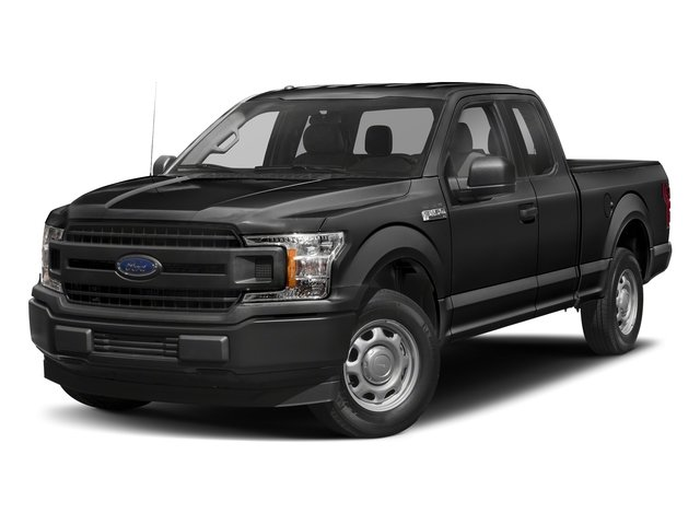 2018 Magnetic Metallic Ford F-150 XLT 4X4 4 Door Truck Automatic