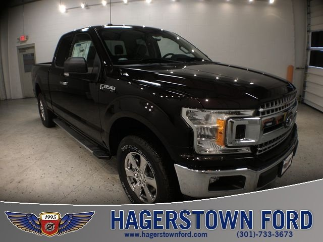 2018 Magma Red Metallic Ford F-150 XLT Truck 4X4 Automatic