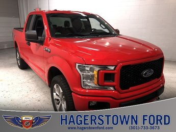 2018 Race Red Ford F-150 XL Automatic Truck 5.0L V8 Ti-VCT Engine