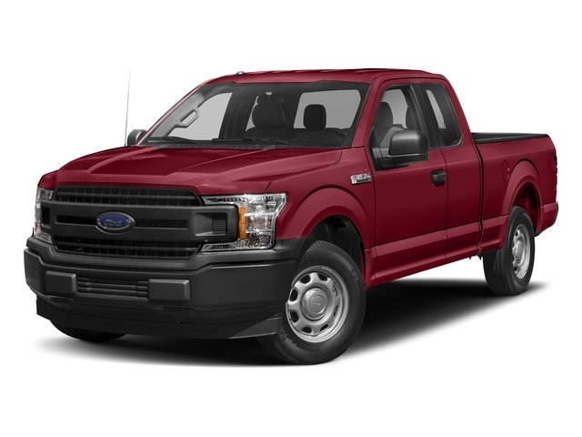 2018 Ruby Red Metallic Tinted Clearcoat Ford F-150 XLT 5.0L V8 Engine Automatic 4X4 Truck