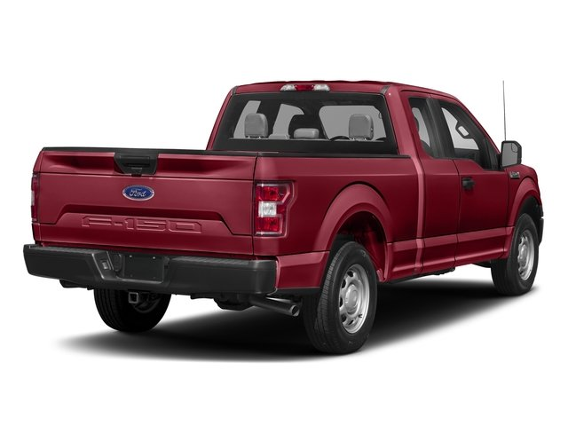 2018 Ruby Red Metallic Tinted Clearcoat Ford F-150 XLT Automatic Truck 4X4 4 Door 5.0L V8 Engine