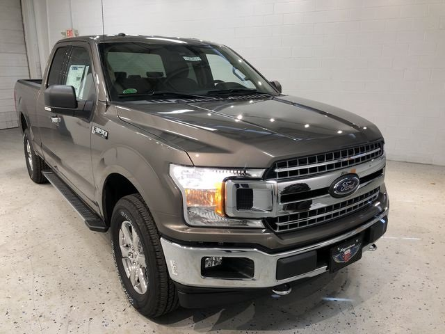 2018 Stone Gray Ford F-150 XLT 4X4 EcoBoost 3.5L V6 GTDi DOHC 24V Twin Turbocharged Engine Automatic