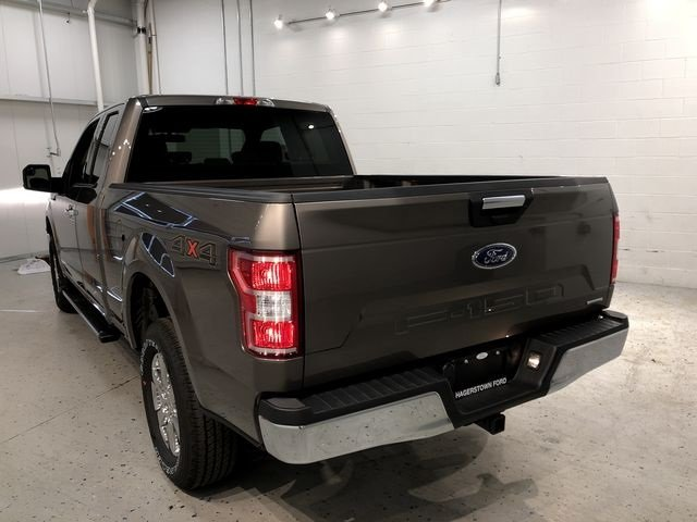 2018 Stone Gray Ford F-150 XLT EcoBoost 3.5L V6 GTDi DOHC 24V Twin Turbocharged Engine Truck 4 Door